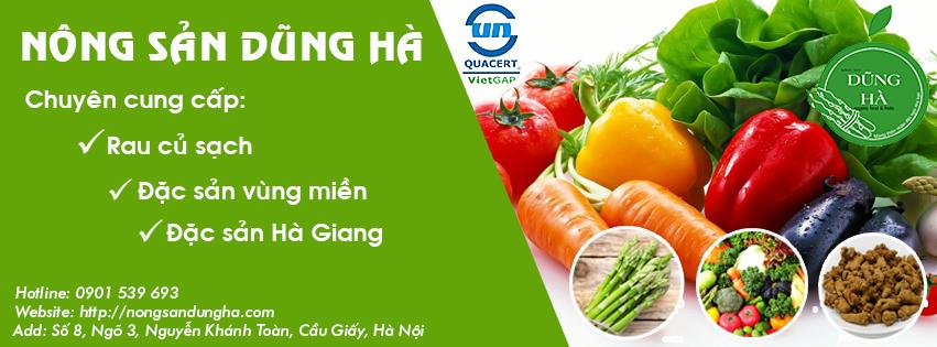 Cơ sở cung cấp thực phẩm sạch tại Hà Nội - tintuctonghop