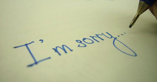 Những lời xin lỗi chân thành nhất - Quantrimang.com