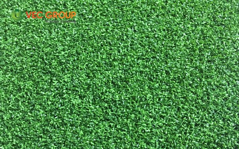 Cỏ sân golf có màu sắc, độ êm, độ đàn hồi giống như cỏ thật