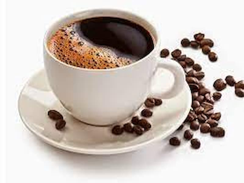 Hình ảnh ly cà phê nguyên chất