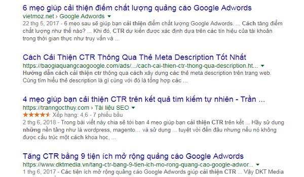 7 cách để cải thiện tỷ lệ nhấp chuột (CTR) trên Google 4